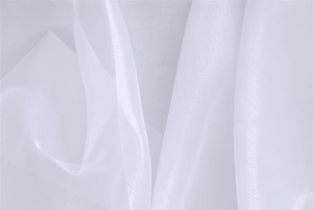 Buy online our clothing and fashion fabric 'Alabastro' Purple Silk Organza, Made in Italy. - new tess
