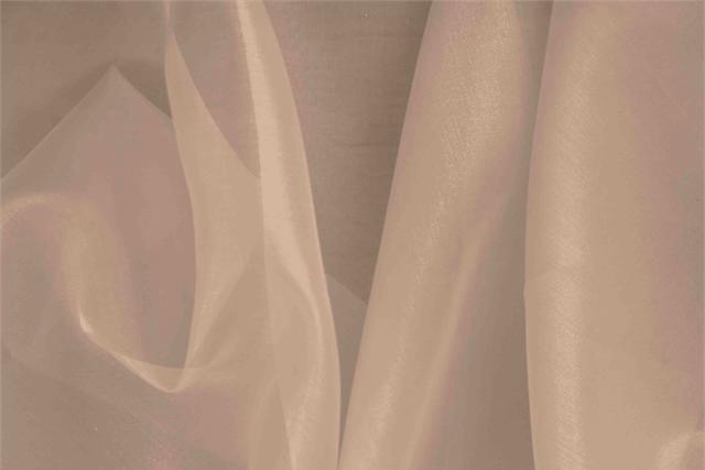 Buy online our clothing and fashion fabric 'Fard' Gray Silk Organza, Made in Italy. - new tess