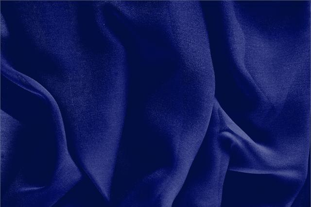 Buy online our clothing and fashion fabric 'Persia' Blue Silk Georgette, Made in Italy. - new tess
