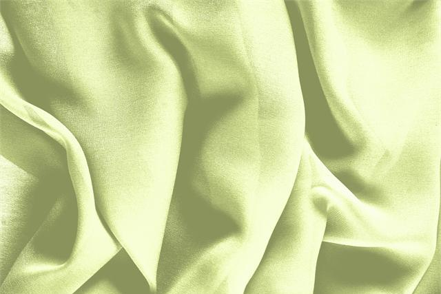 Buy online our clothing and fashion fabric 'Lime' Green Silk Georgette, Made in Italy. - new tess
