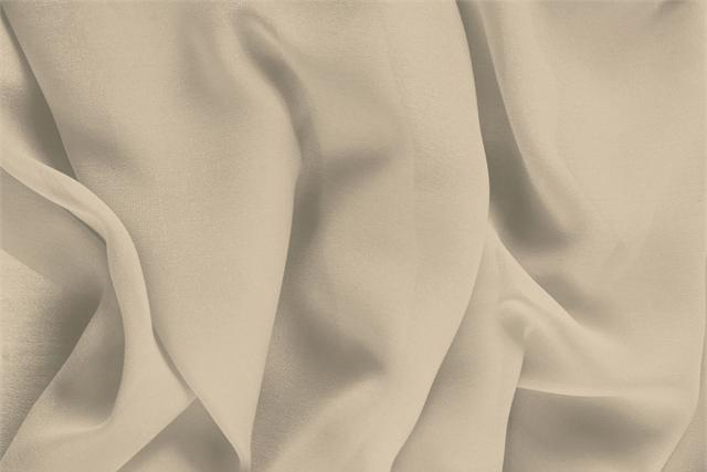 Buy online our clothing and fashion fabric 'Nude' Beige Silk Georgette, Made in Italy. - new tess