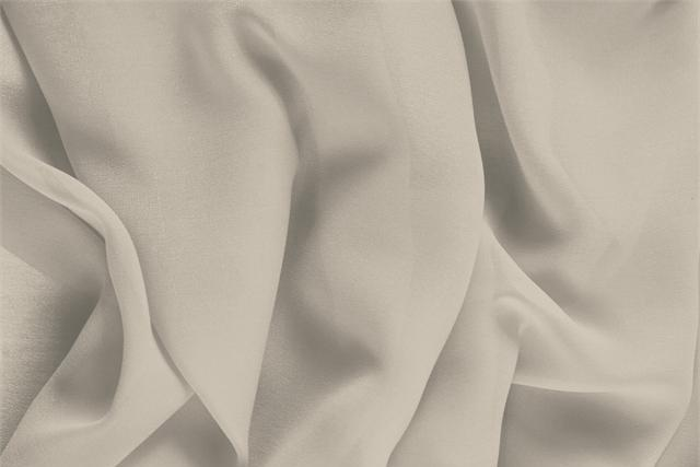 Buy online our clothing and fashion fabric 'Corda' Beige Silk Georgette, Made in Italy. - new tess