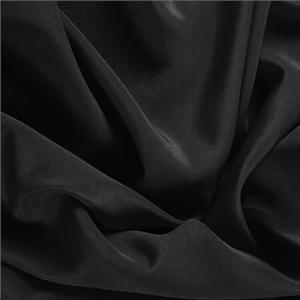 Crepe de Chine Sorrento Nero - Apparel and fashion fabric by the yard