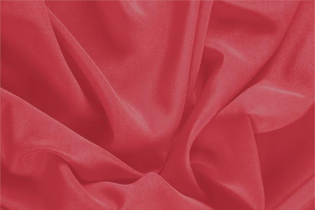 Buy online our clothing and fashion fabric 'Rubino' Red Silk Crêpe de Chine, Made in Italy. - new tess
