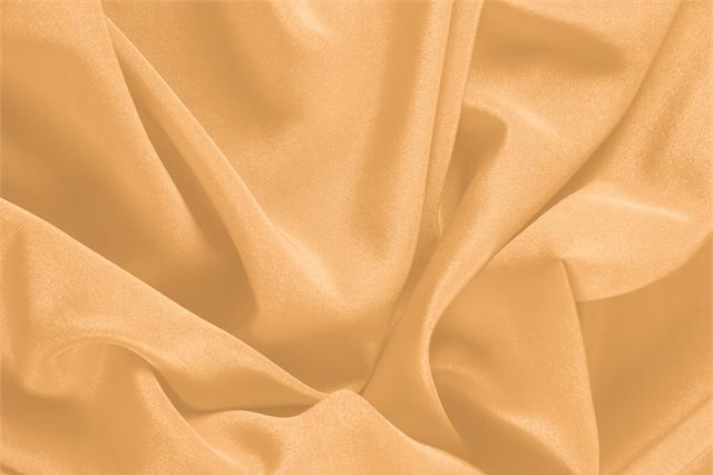 Buy online our clothing and fashion fabric 'Albicocca' Orange Silk Crêpe de Chine, Made in Italy. - new tess