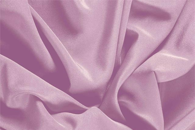 Buy online our clothing and fashion fabric 'Fata' Pink Silk Crêpe de Chine, Made in Italy. - new tess