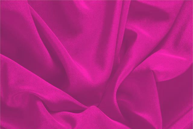 Buy online our clothing and fashion fabric 'Ciclamino' Fuxia Silk Crêpe de Chine, Made in Italy. - new tess