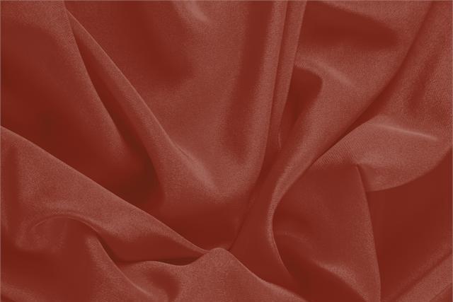 Acquista online il nostro tessuto per abbigliamento, sartoria e moda Crêpe de Chine Rosso 'Amaranto' in Seta, Made in Italy. - new tess