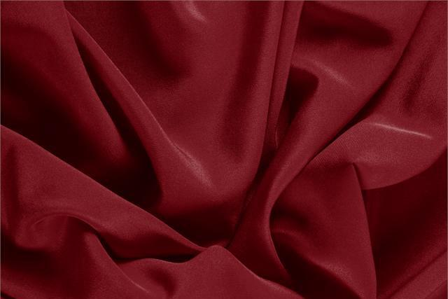 Buy online our clothing and fashion fabric 'Bordeaux' Purple Silk Crêpe de Chine, Made in Italy. - new tess