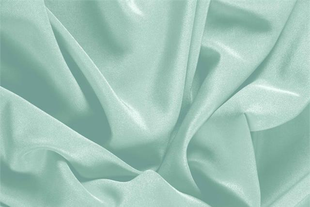 Clorofilla Green Silk Crêpe de Chine fabric for dressmaking