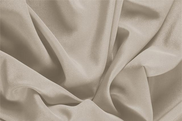 Buy online our clothing and fashion fabric 'Nude' Beige Silk Crêpe de Chine, Made in Italy. - new tess