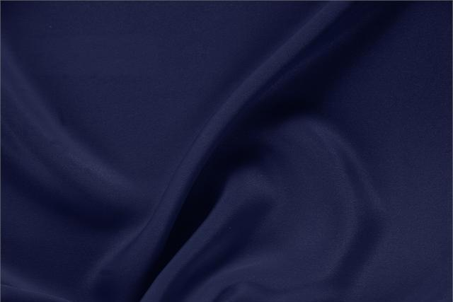 Buy online our clothing and fashion fabric 'Marine' Blue Silk Drap, Made in Italy. - new tess