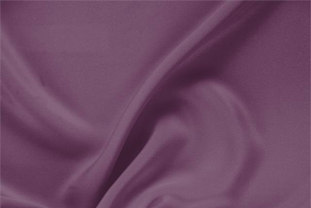Buy online our clothing and fashion fabric 'Melanzana' Purple Silk Drap, Made in Italy. - new tess