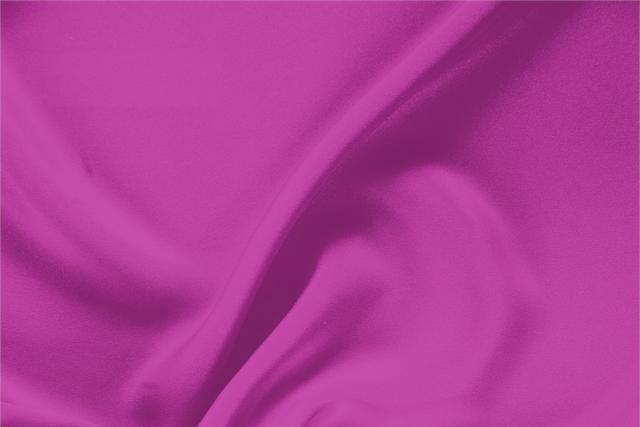 Tissu Drap Fuchsia Orchidea en Soie pour vêtements