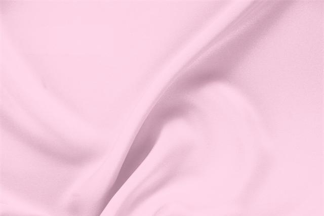 Buy online our clothing and fashion fabric 'Baby' Pink Silk Drap, Made in Italy. - new tess