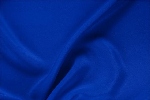 Achetez notre tissu pour habillement, haute couture et mode Drap Bleu 'Elettrico' en Soie, Made in Italy. - new tess
