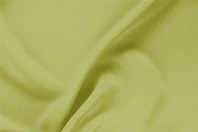 Buy online our clothing and fashion fabric 'Acido' Green Silk Drap, Made in Italy. - new tess