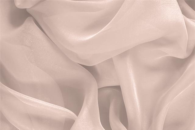 Acquista online il nostro tessuto per abbigliamento, sartoria e moda Chiffon Rosa 'Cipria' in Seta, Made in Italy. - new tess