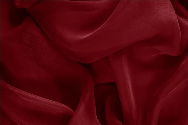 Buy online our clothing and fashion fabric 'Bordeaux' Purple Silk Chiffon, Made in Italy. - new tess