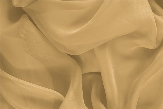 Buy online our clothing and fashion fabric 'Biscotto' Beige Silk Chiffon, Made in Italy. - new tess