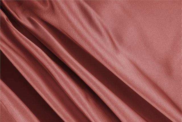 Buy online our clothing and fashion fabric 'Mattone' Brown Silk Dogaressa, Made in Italy. - new tess