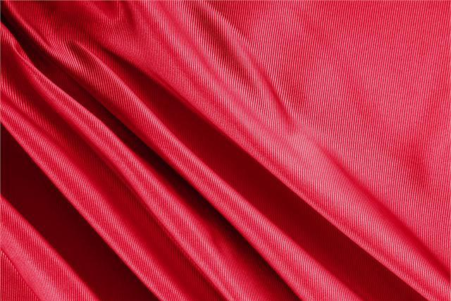 Buy online our clothing and fashion fabric 'Fuoco' Red Silk Dogaressa, Made in Italy. - new tess