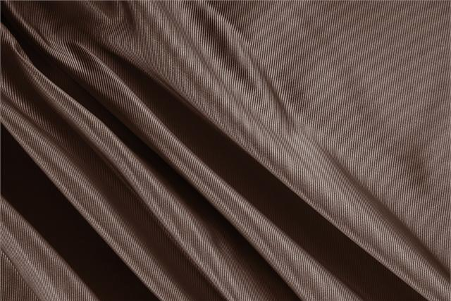 Buy online our clothing and fashion fabric 'Moro' Brown Silk Dogaressa, Made in Italy. - new tess