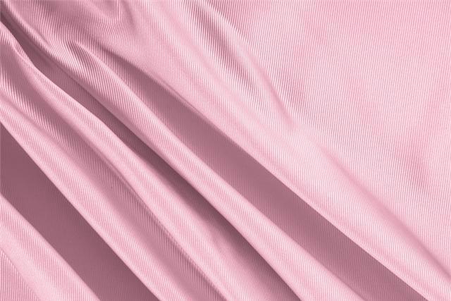 Tissu Dogaressa Rose Petalo en Soie pour vêtements