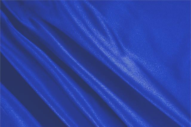 Acquista online il nostro tessuto per abbigliamento, sartoria e moda Dogaressa Blu Elettrico, Made in Italy. - new tess