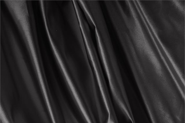 Buy online our clothing and fashion fabric Black Silk Duchesse, Made in Italy. - new tess
