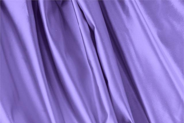 Buy online our clothing and fashion fabric 'Lavanda' Purple Silk Duchesse, Made in Italy. - new tess