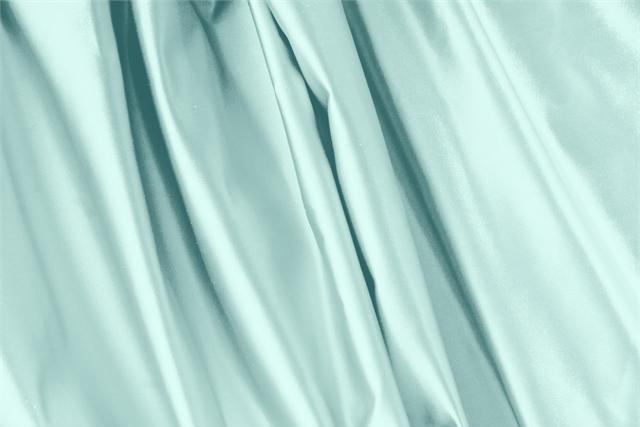 Buy online our clothing and fashion fabric 'Fiordaliso' Blue Silk Duchesse, Made in Italy. - new tess