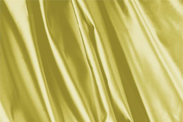 Buy online our clothing and fashion fabric 'Gold' Yellow Silk Duchesse, Made in Italy. - new tess