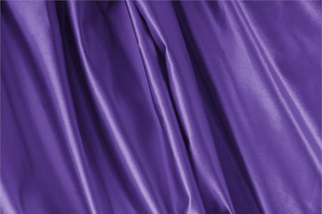 Buy online our clothing and fashion fabric 'Iris' Purple Silk Duchesse, Made in Italy. - new tess