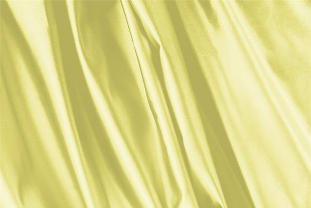 Buy online our clothing and fashion fabric 'Limone' Yellow Silk Duchesse, Made in Italy. - new tess