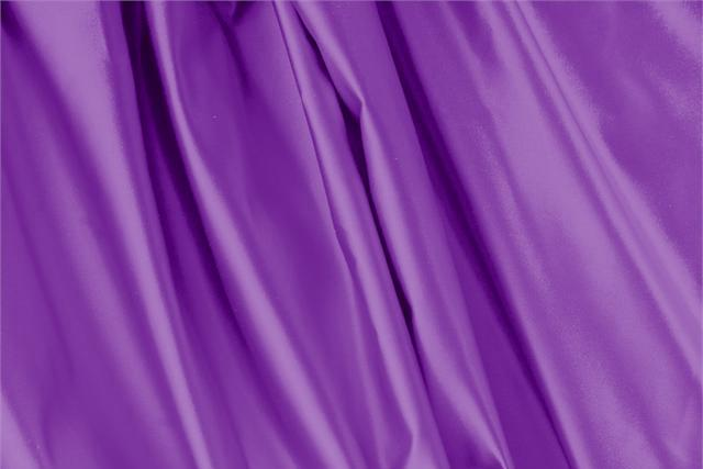 Buy online our clothing and fashion fabric 'Vescovo' Purple Silk Duchesse, Made in Italy. - new tess