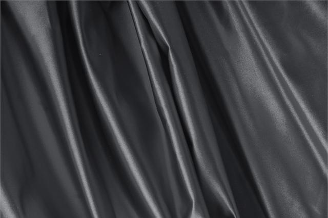 Buy online our clothing and fashion fabric 'Antracite' Gray Silk Duchesse, Made in Italy. - new tess