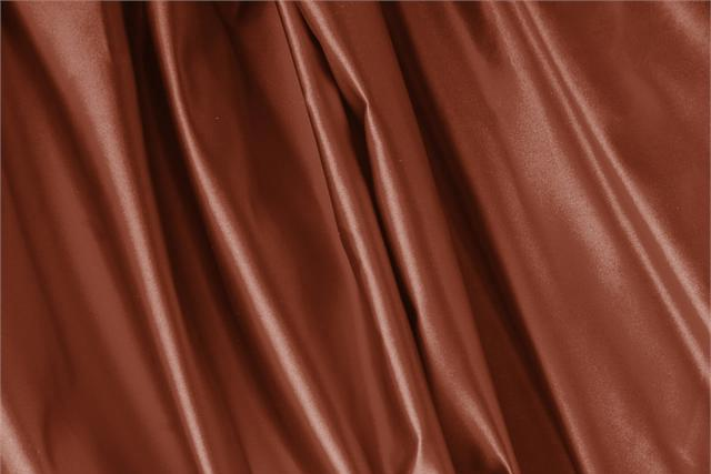 Buy online our clothing and fashion fabric Duchesse Brown Bruciato, Made in Italy. - new tess
