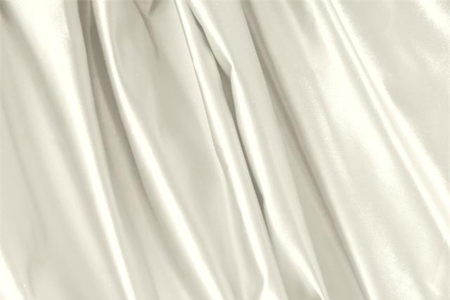 Buy online our clothing and fashion fabric 'Vaniglia' White Silk Duchesse, Made in Italy. - new tess