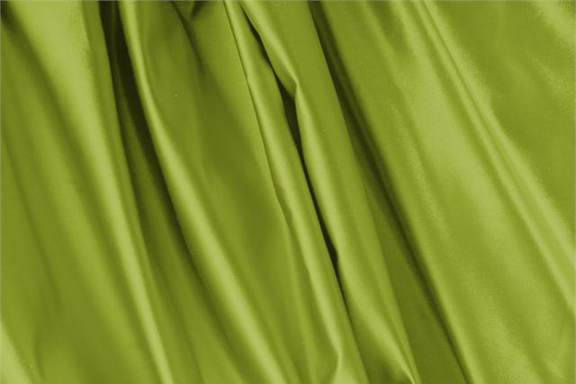 Buy online our clothing and fashion fabric 'Muschio' Green Silk Duchesse, Made in Italy. - new tess
