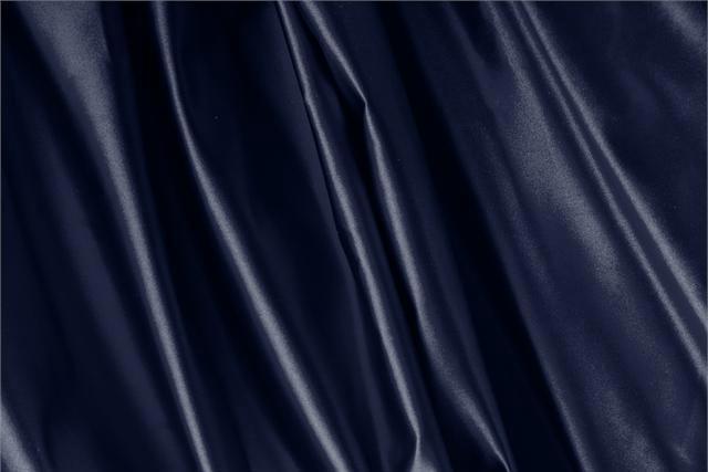 Achetez notre tissu pour habillement, haute couture et mode Duchesse Bleu 'Navy' en Soie, Made in Italy. - new tess