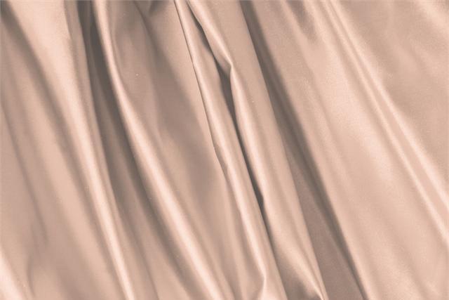 Biscotto Beige Silk Duchesse fabric for dressmaking