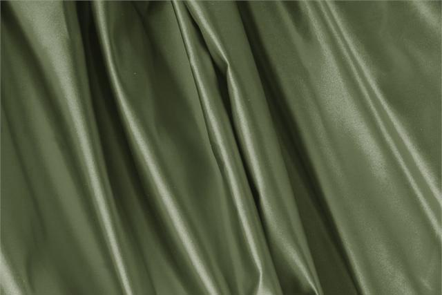 Achetez notre tissu pour habillement, haute couture et mode Duchesse Vert 'Oliva' en Soie, Made in Italy. - new tess