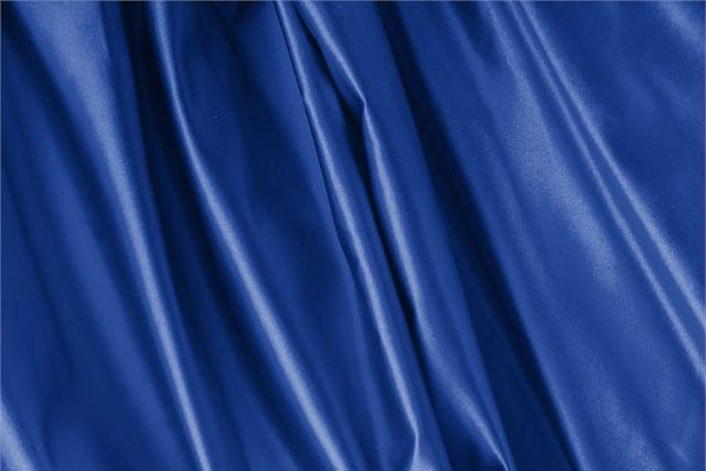 Buy online our clothing and fashion fabric Duchesse Blue Royale, Made in Italy. - new tess