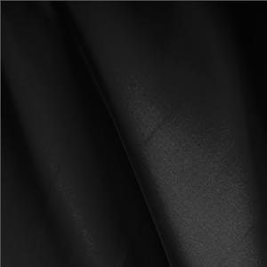Black Silk Faille Plain fabric for Ceremony Dress, Dress, Party dress.