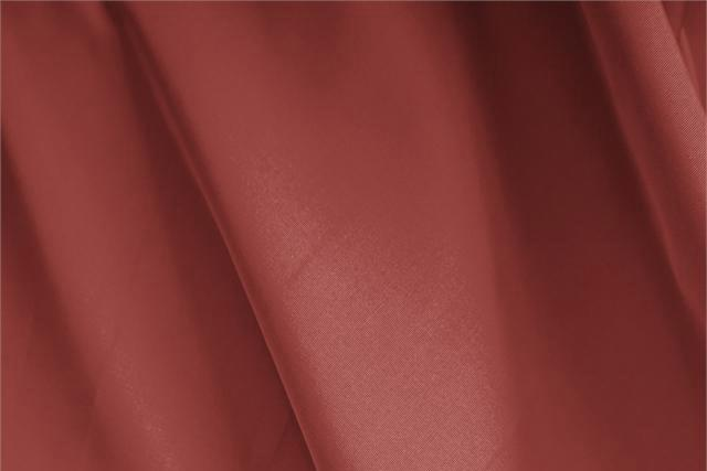 Buy online our clothing and fashion fabric Faille Brown Mattone, Made in Italy. - new tess