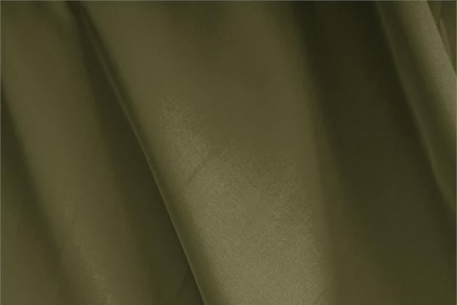 Buy online our clothing and fashion fabric 'Muschio' Green Silk Faille, Made in Italy. - new tess
