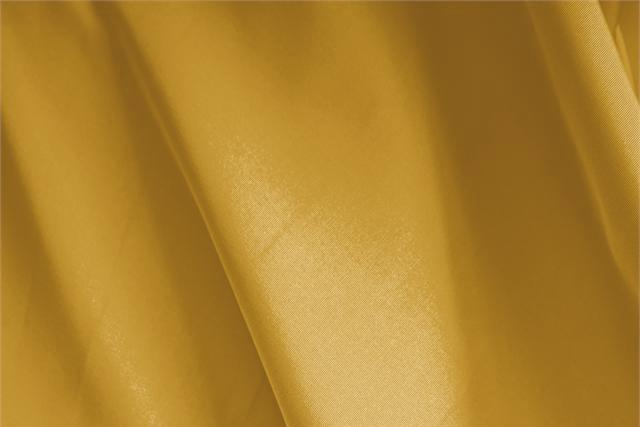 Buy online our clothing and fashion fabric 'Ocra' Yellow Silk Faille, Made in Italy. - new tess