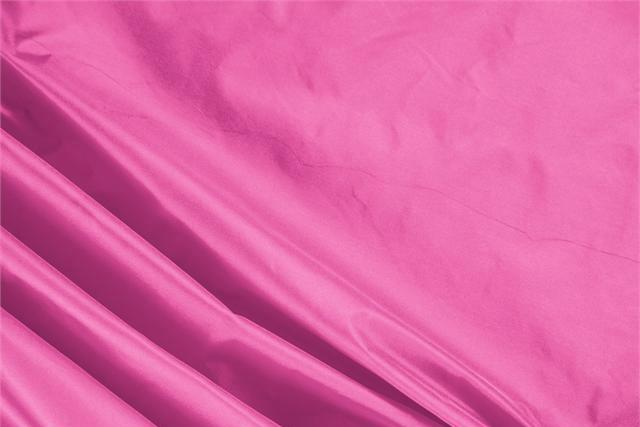 Buy online our clothing and fashion fabric 'Ciclamino' Fuxia Silk Taffeta, Made in Italy. - new tess