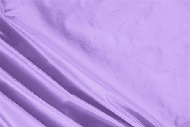 Buy online our clothing and fashion fabric 'Lavanda' Purple Silk Taffeta, Made in Italy. - new tess